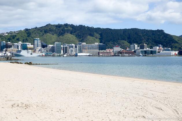 Beach, Wellington, New Zealand