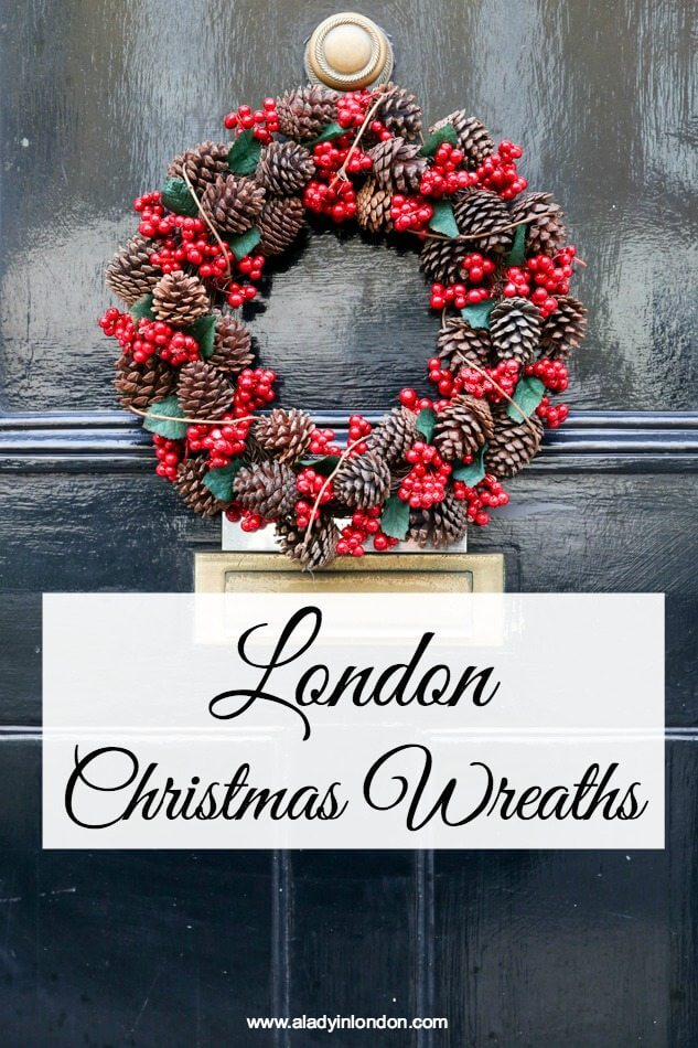 Christmas Wreaths in London