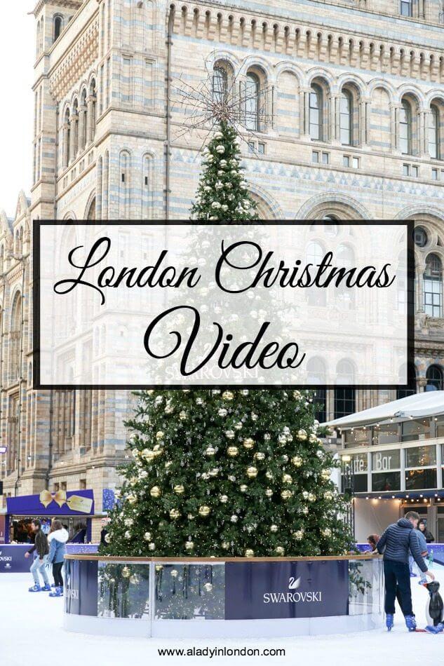 London Christmas Video