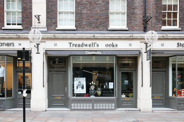 Treadwell's Bookshop in London