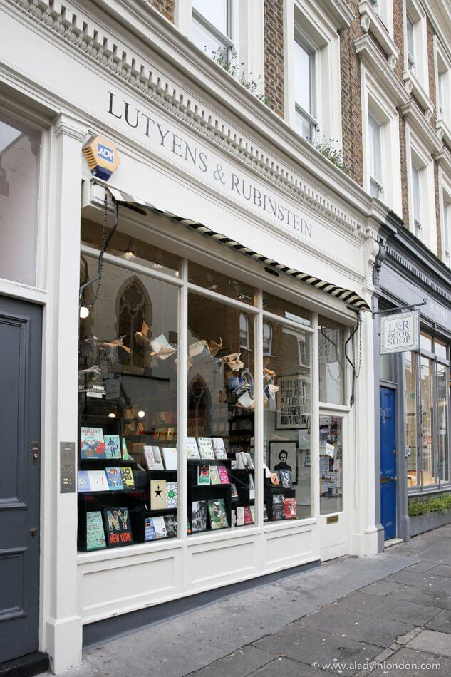 Lutyens & Rubinstein Bookshop in London