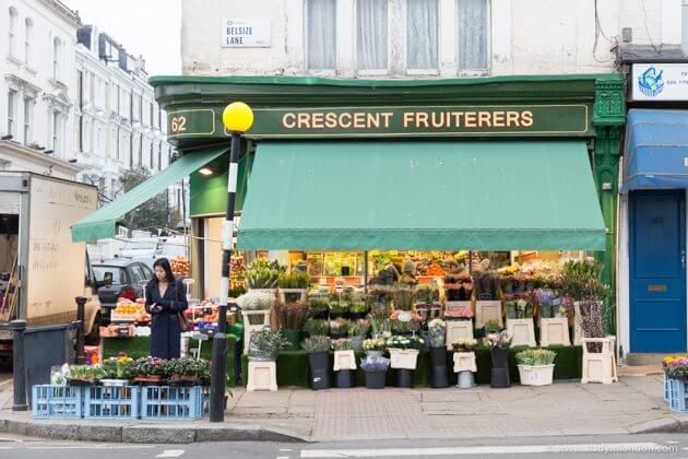 Crescent Fruiterers, Belsize Park