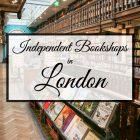 Independent Bookshops in London