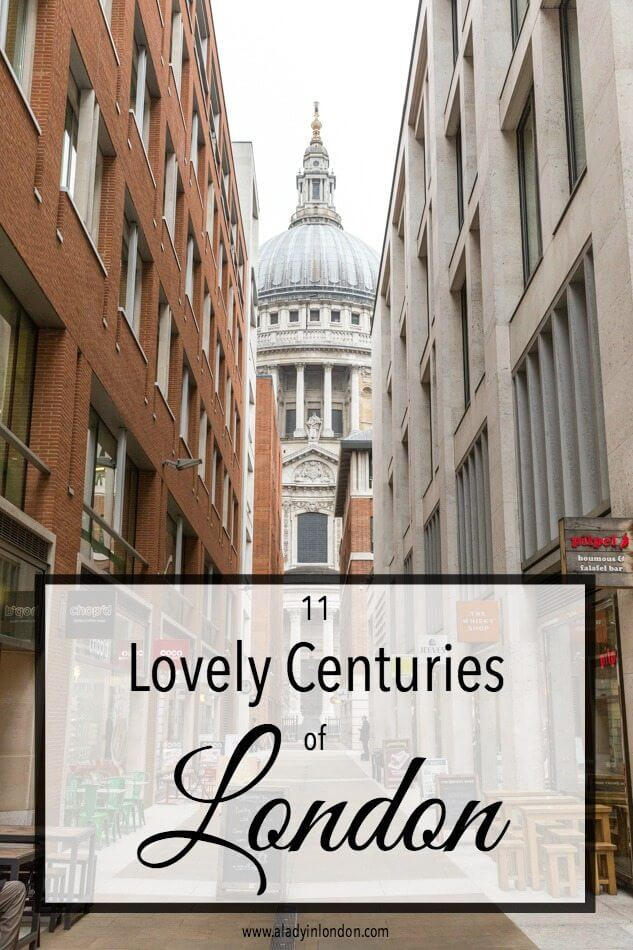 London architecture through the centuries