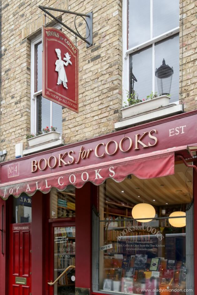 Books for Cooks, Notting Hill