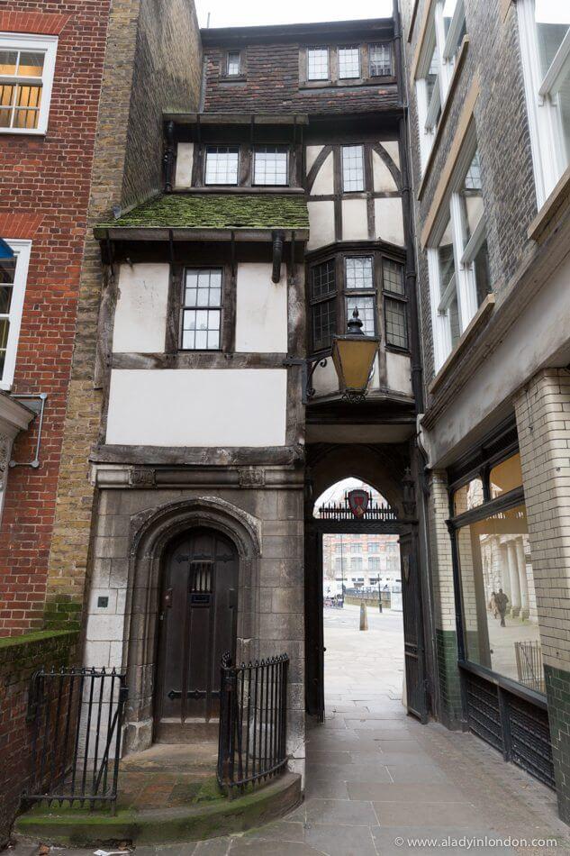 St Bartholomew's Gatehouse, Smithfield