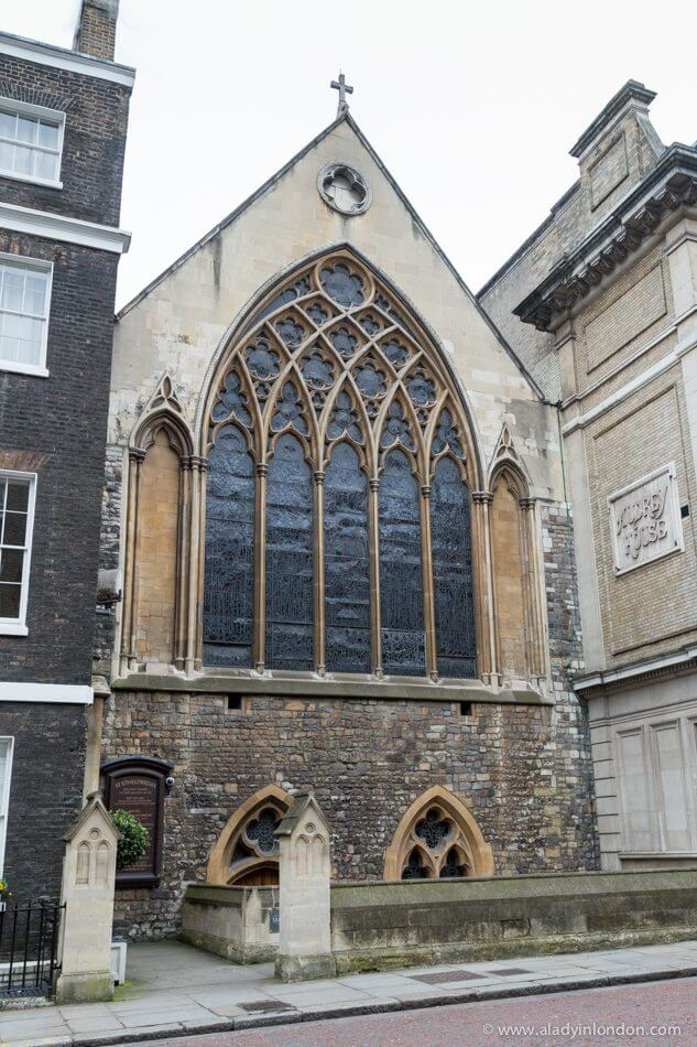 St Etheldredas Church, London