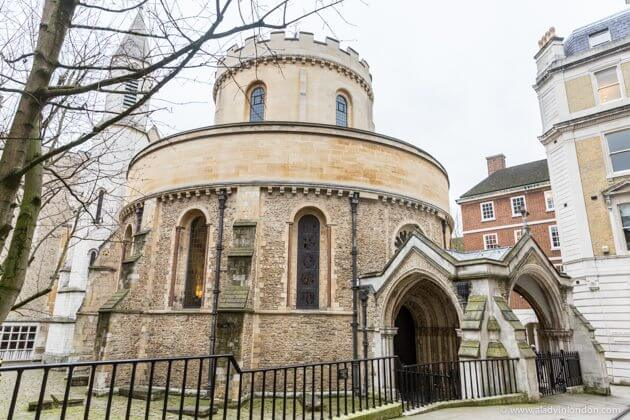 The Round Church, Temple, London