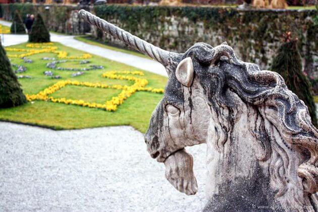 Garden in Salzburg, Austria