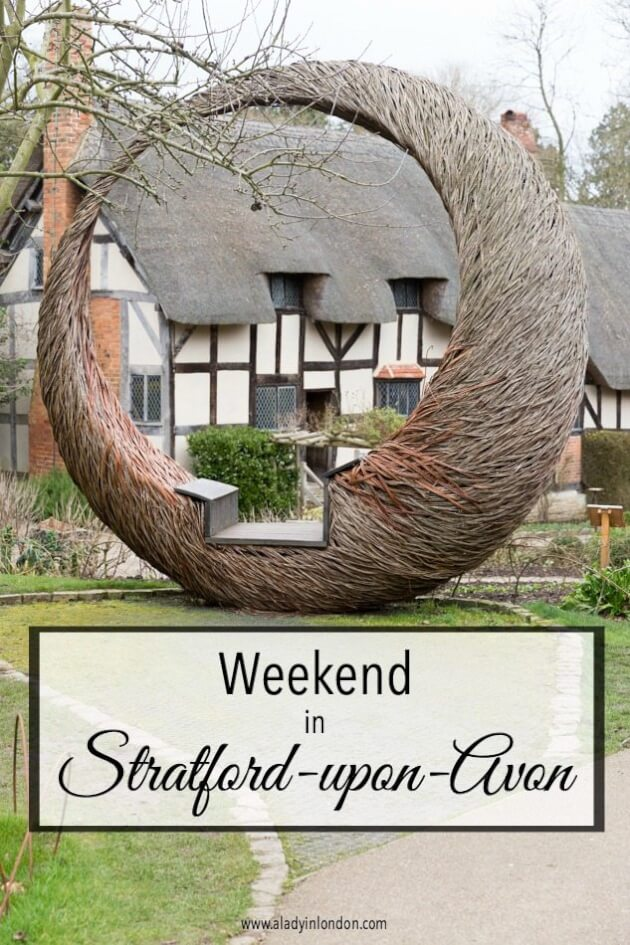Weekend in Stratford-upon-Avon