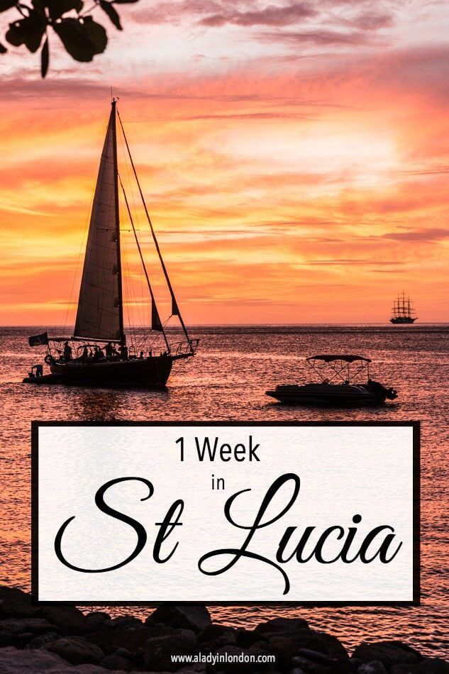 1 Week in St Lucia