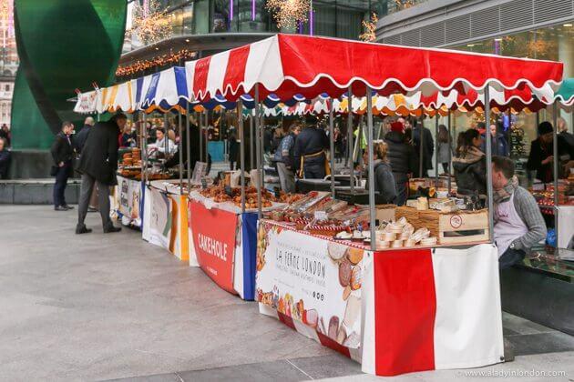 Cardinal Place Food Market, London