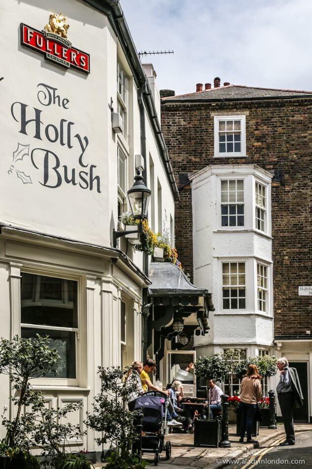 Holly Bush Pub, Hampstead, London