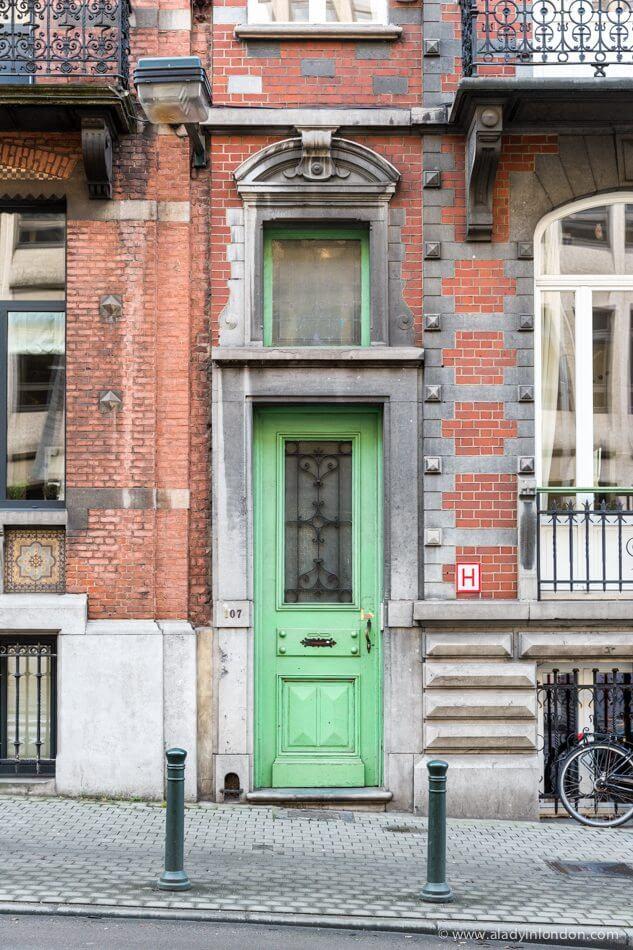Door in Brussels