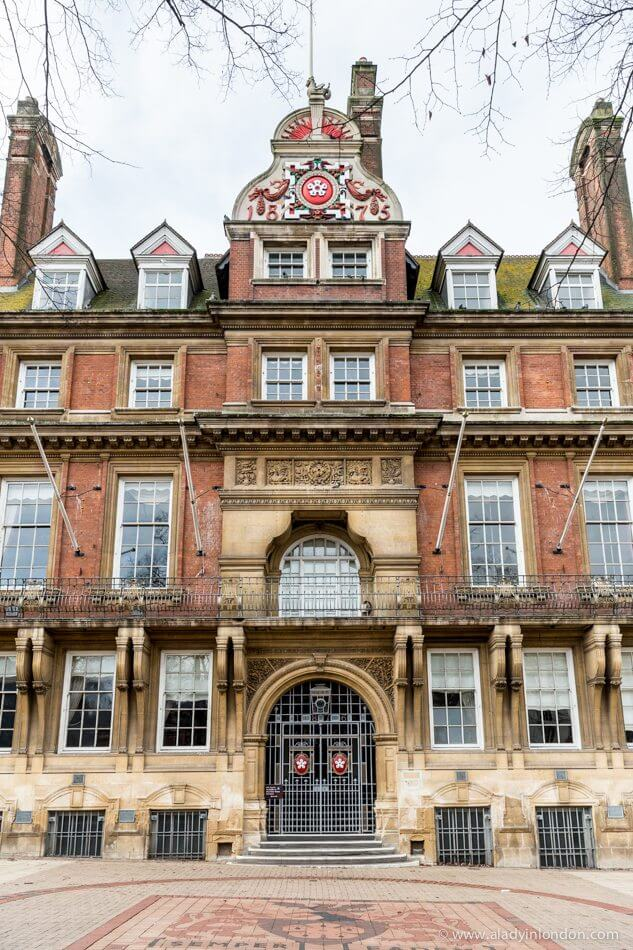 Town Hall in Leicester