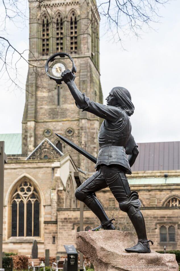 Richard III Statue, Leicester