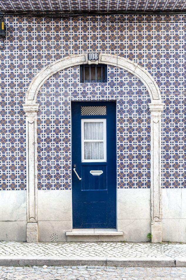 Door with Tiles, Lisbon