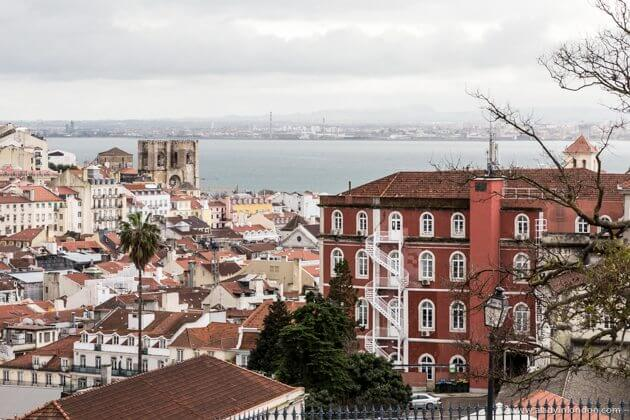 View from Bairro Alto, Lisbon
