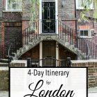 4 Days London Itinerary
