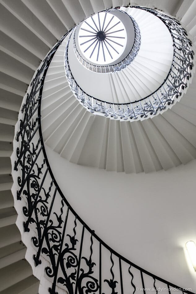 Staircase, Queen's House, London