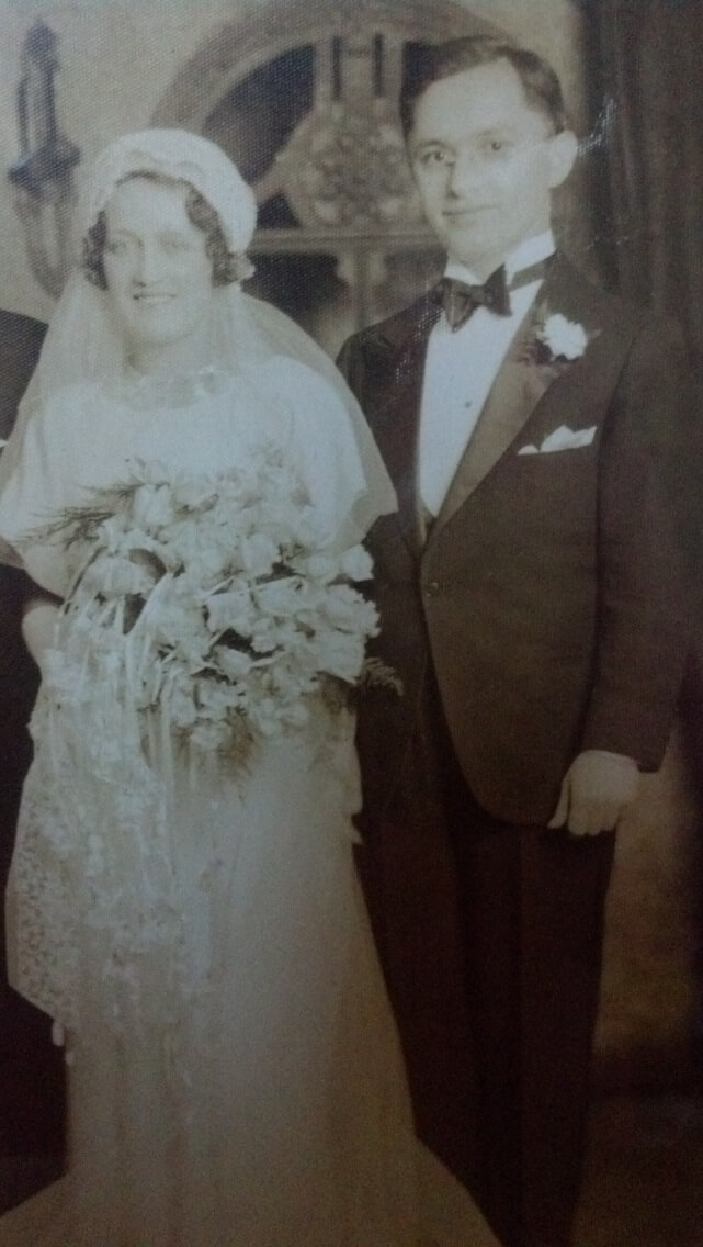 Grandparents' Wedding
