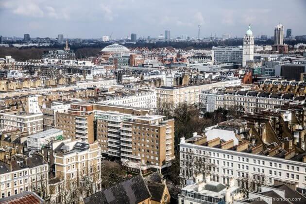 View of Kensington, London