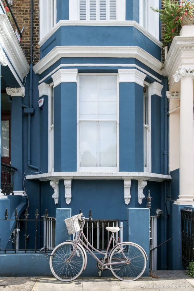 Colorful House, Notting Hill