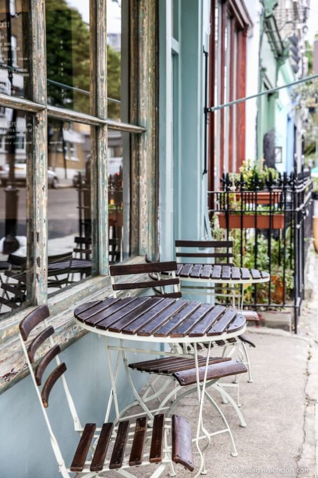 Cafe, Notting Hill