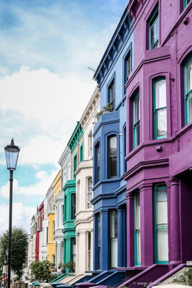 Colorful Houses, Notting Hill