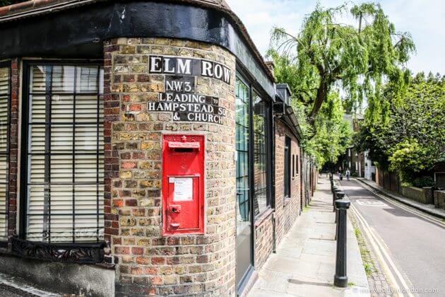 Elm Row, Hampstead