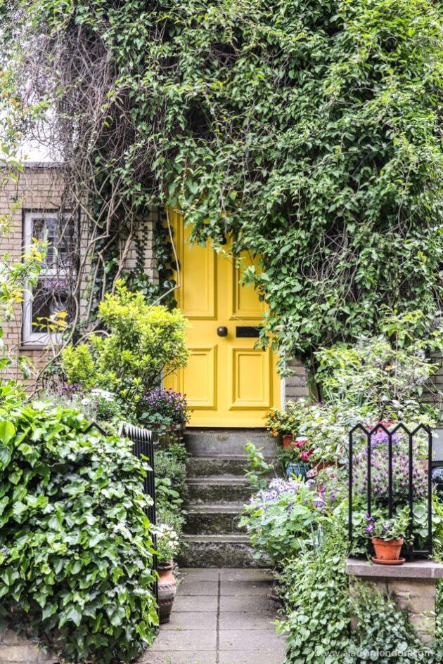 Door on Flask Walk, Hampstead