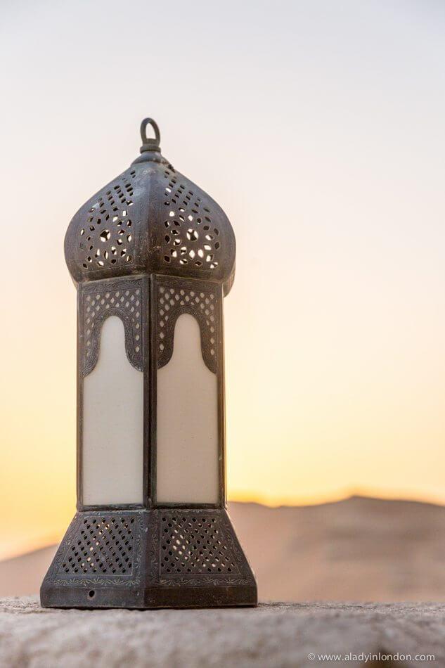 Lantern in Abu Dhabi