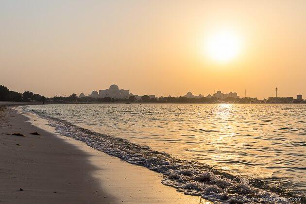 Sumset, Abu Dhabi