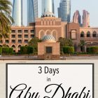 3 Days Abu Dhabi