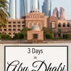 3 Days Abu Dhabi