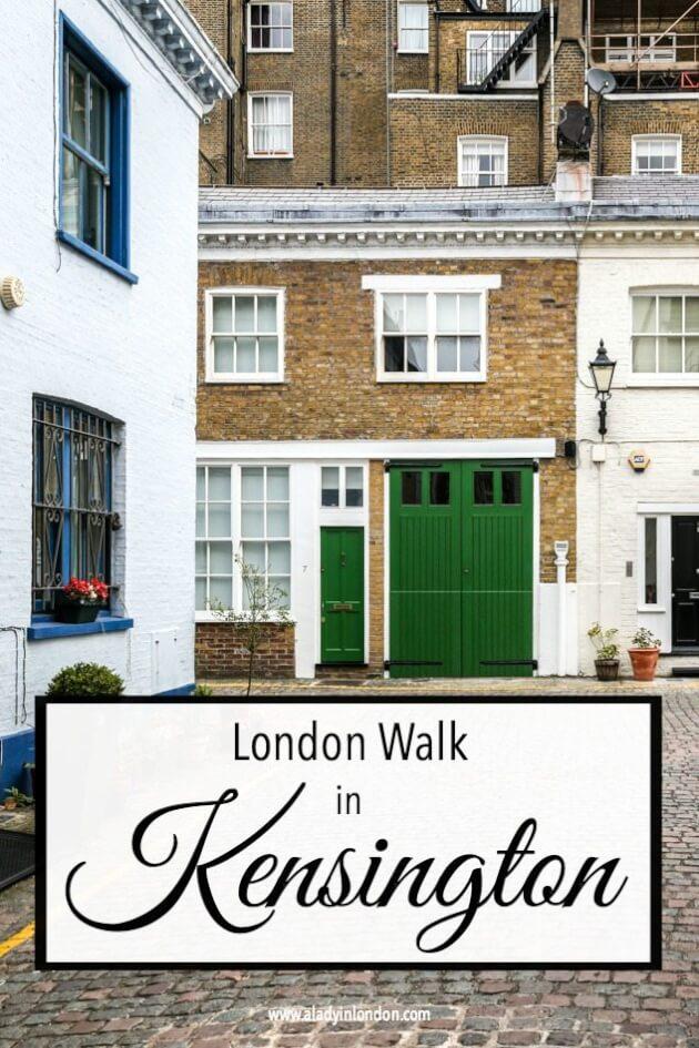 Self-Guided Walk in Kensington
