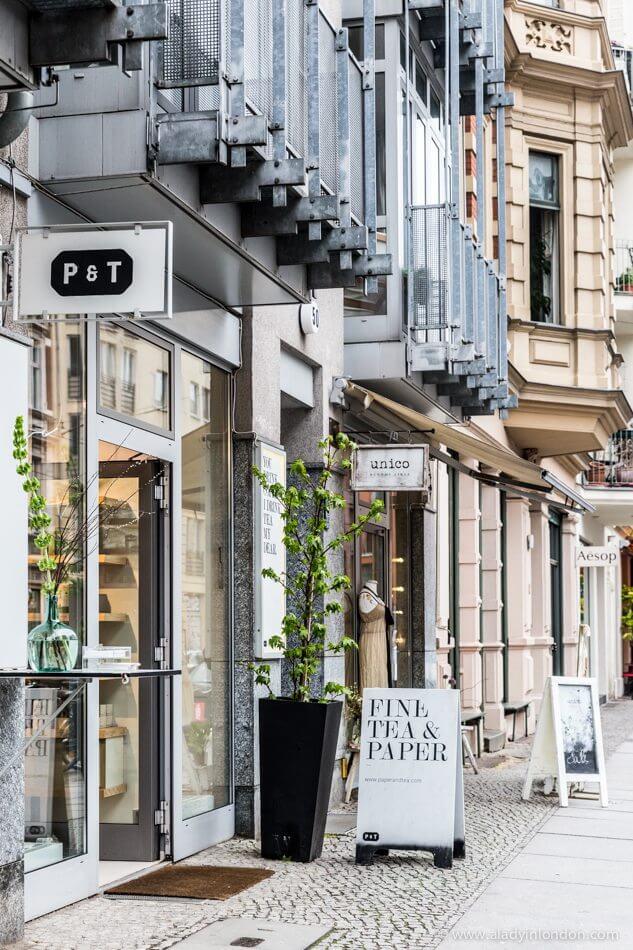 Shops in Berlin