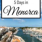 5 Days in Menorca
