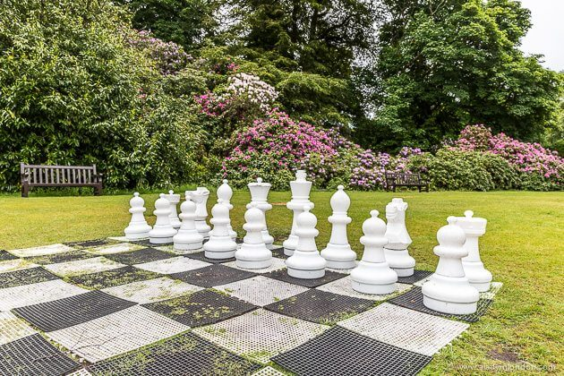 Giant Chess at Inverlochy Castle