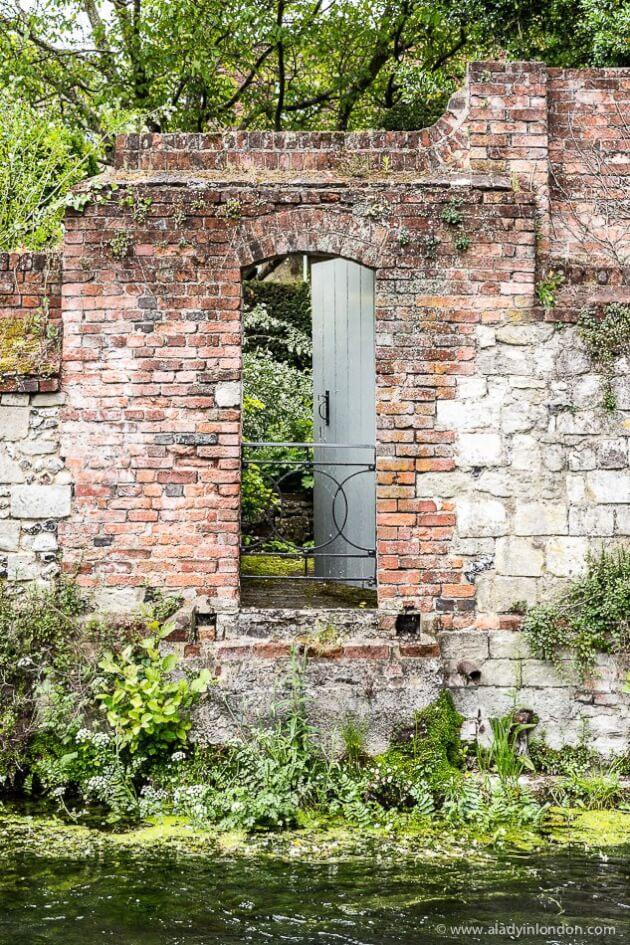 Door on the River in Winchester