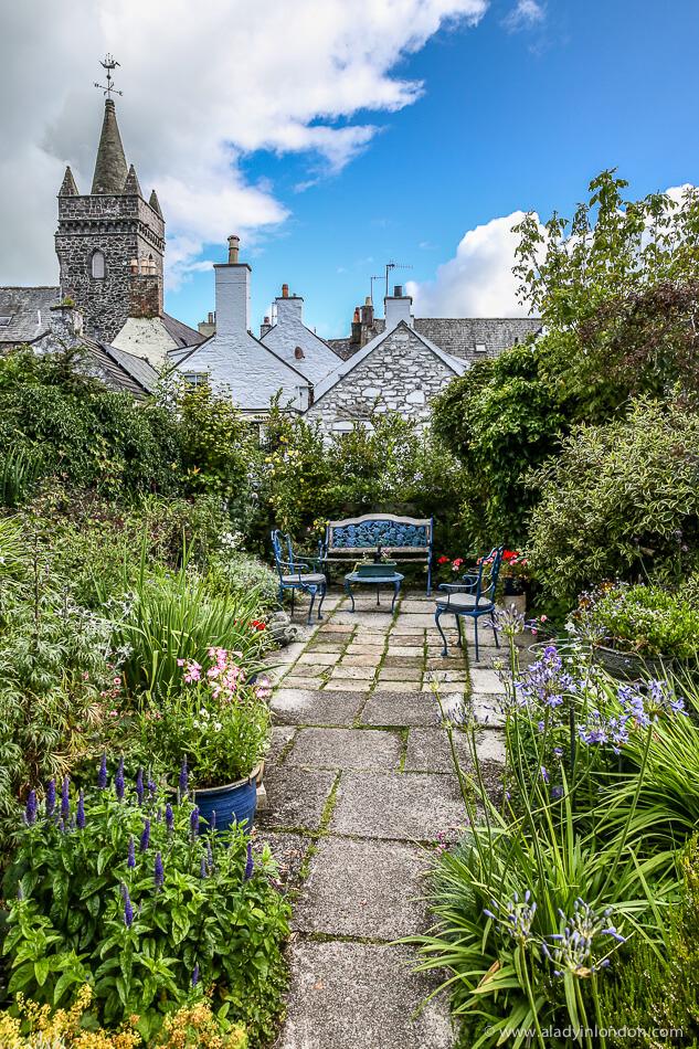 Garden in Kirkcudbright, Scotland
