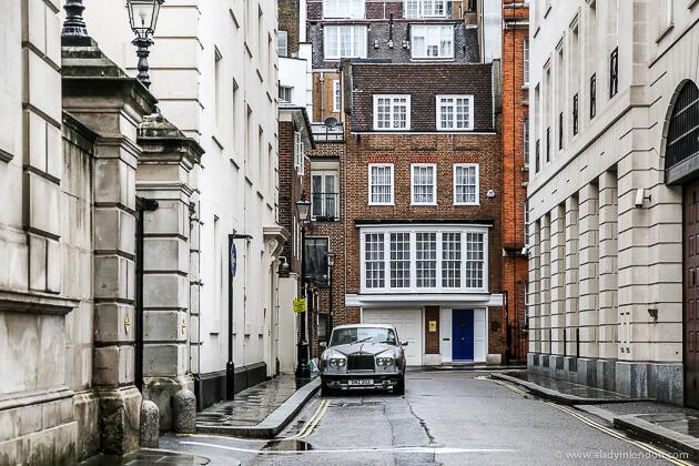 Car in St James's, London