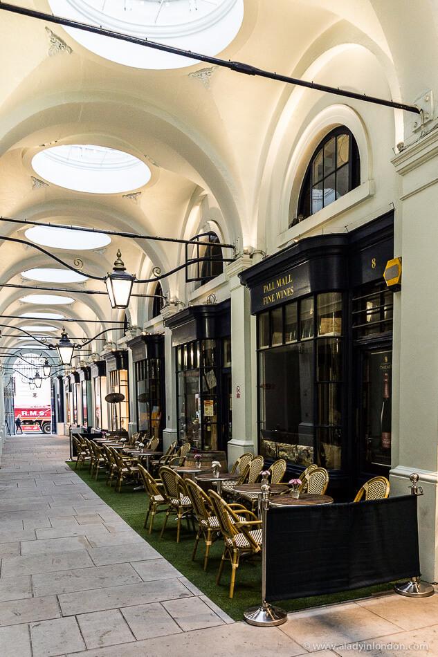 Royal Opera Arcade, London