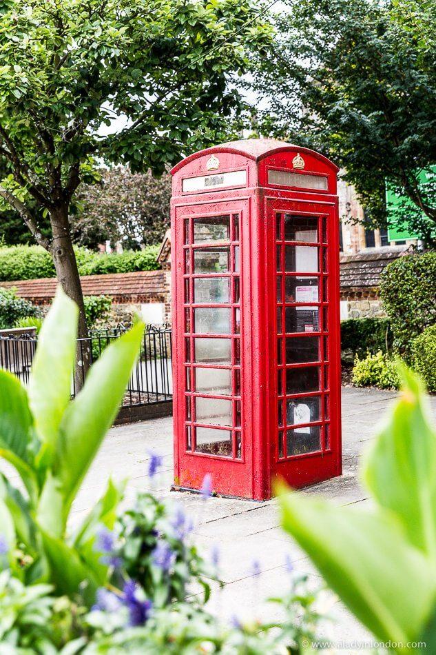 Red Phone Box in Petersfield