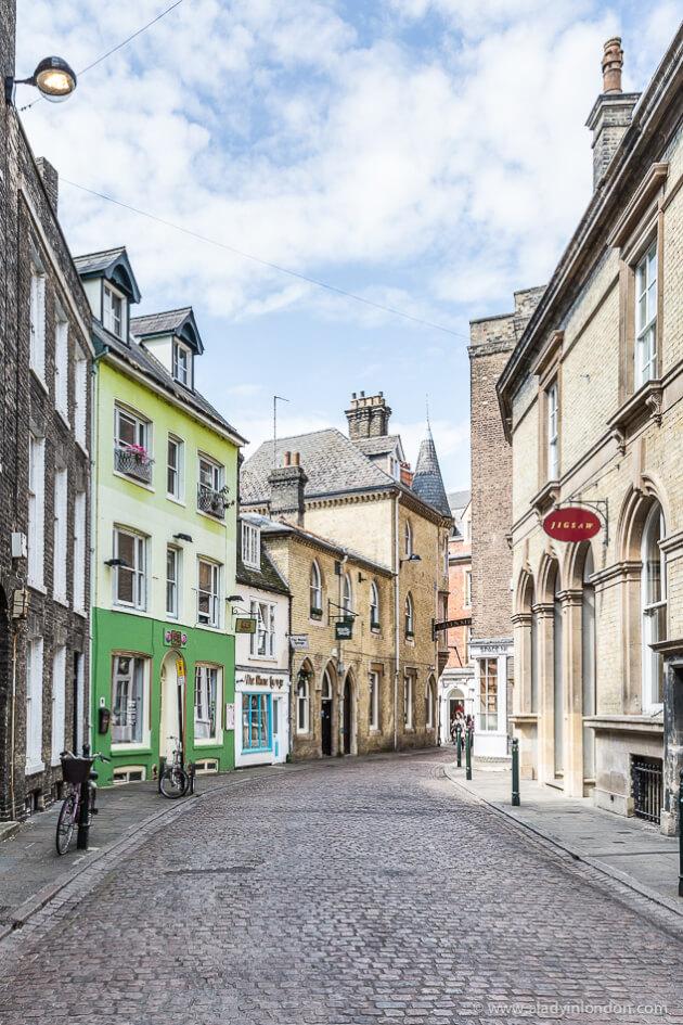 Street in Cambridge