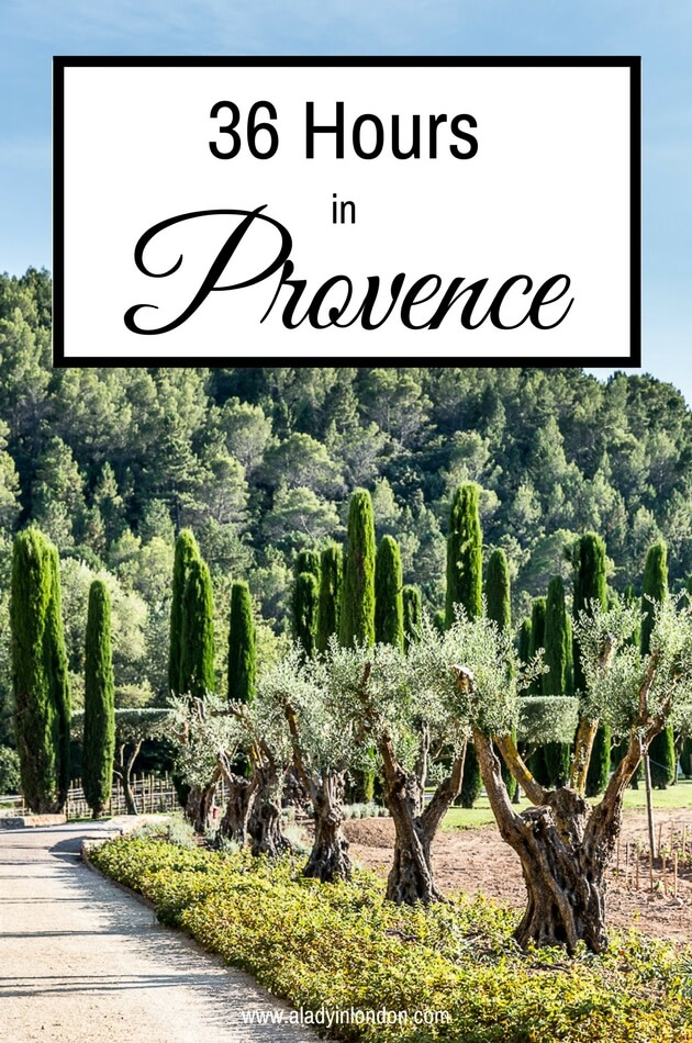 36 Hours in Provence