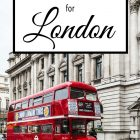 5 Day Itinerary for London