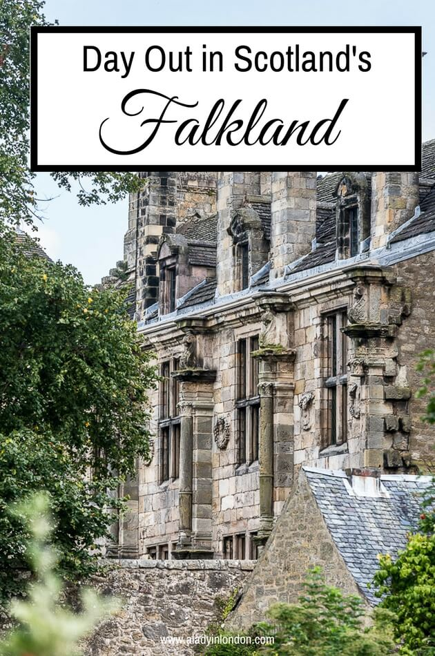 Day Out in Falkland, Scotland