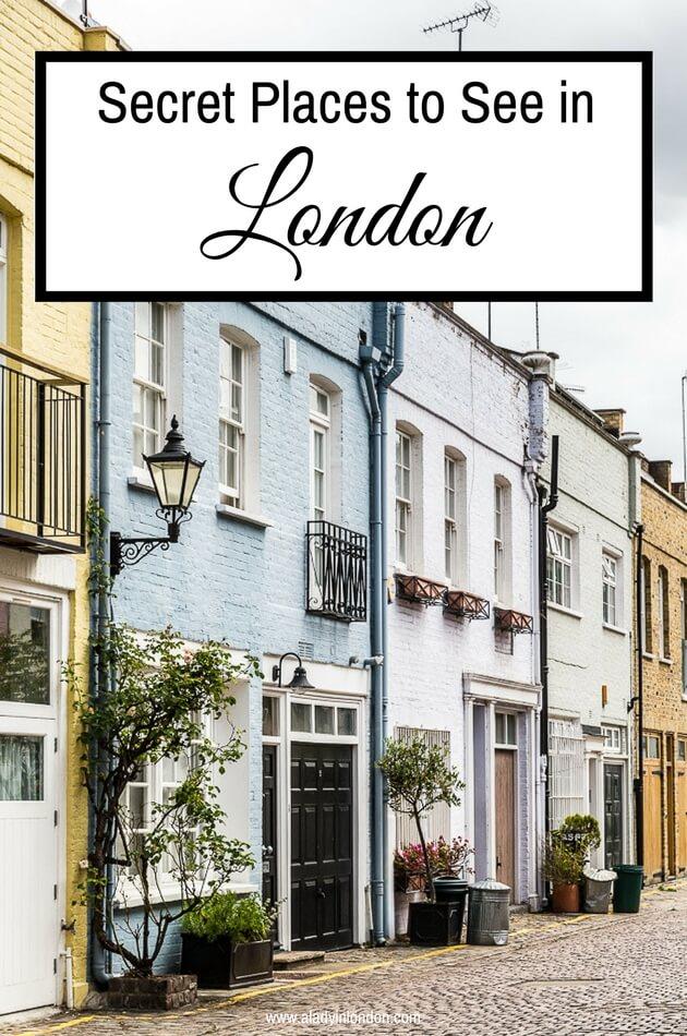 Secret Places in London