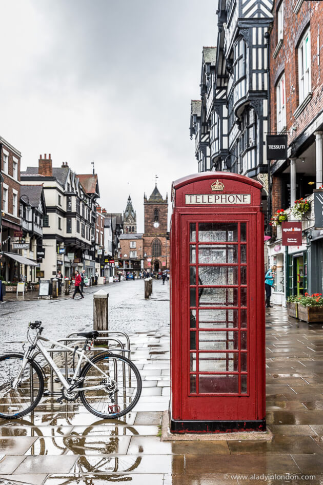 Red Phone Box in Chester